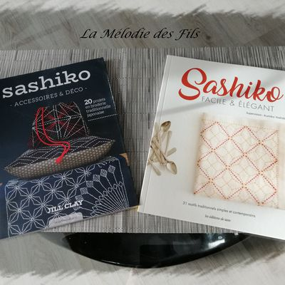 Mes livres de Sashiko