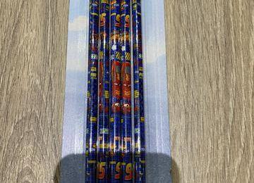 Crayons de papier bleu Cars