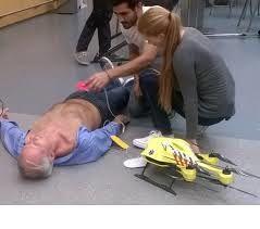 Un drone ambulancier
