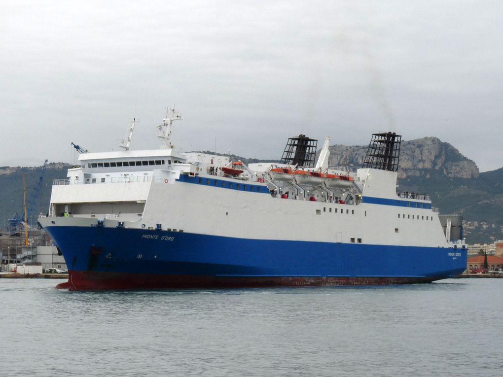"""MOTE D""""ORO , arrivant au port de Toulon le 09 novembre 2016"""