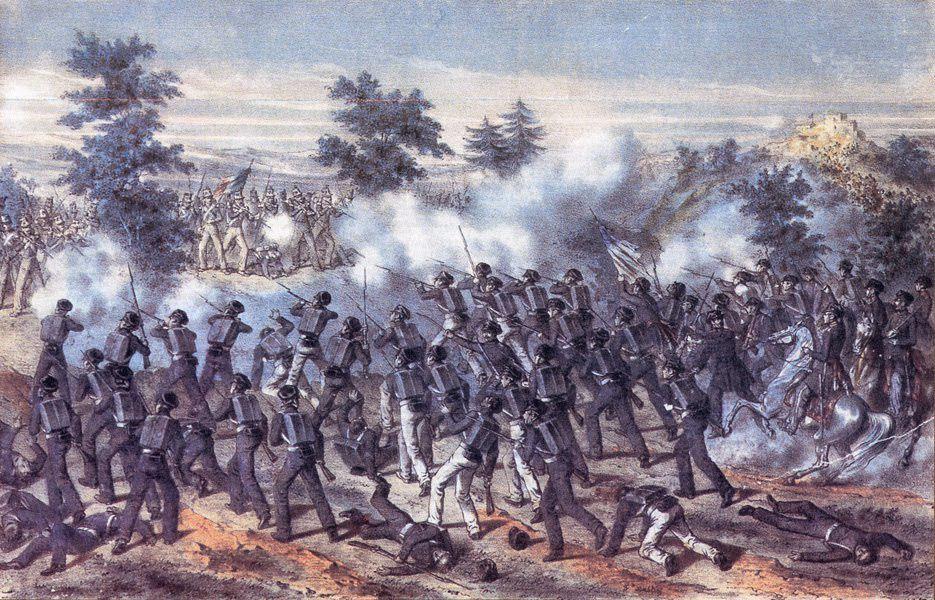 La bataille de Cerro Gordo 18 avril 1847