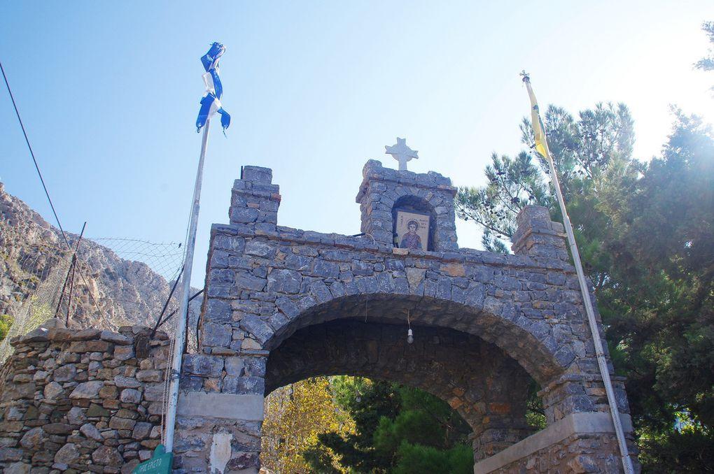 Ile de Tilos : Monastiri Agios Panteleimonas