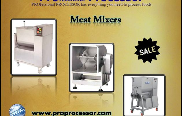 Most Efficient and Powerful Meat Mixers