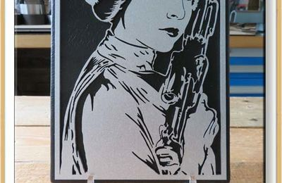 May the fourth be with you - Portrait de Princesse Leia Organa
