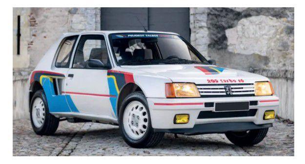 Automobile : la Peugeot 205 T16 ayant appartenu à Jean Todt vendue plus de 400 000 euros !
