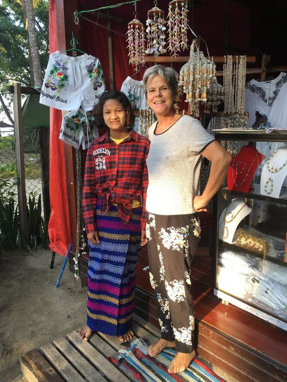 1 semaine à NGAPALI BEACH, Golfe du Bengale,  MYANMAR