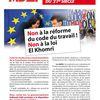 La loi travail est impulsée par l'Union européenne
