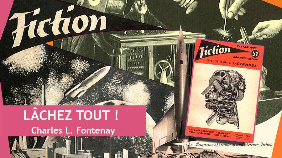 👽📚 CHARLES L. FONTENAY - LÂCHEZ TOUT ! (UP !, 1957)