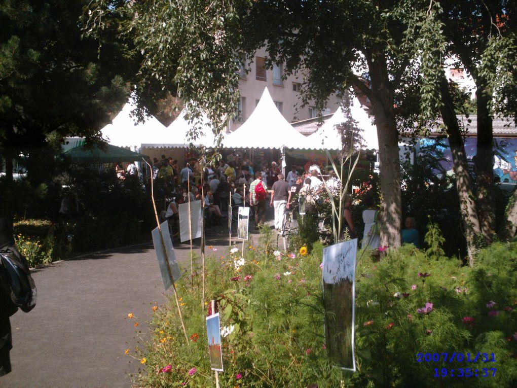 Photos souvenir des journées d'été de Clermont Ferrand en 2011