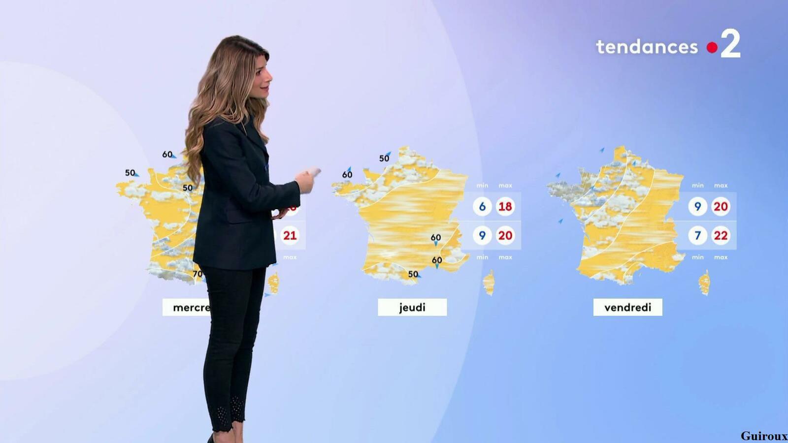 Chloé Nabédian 27/09/2021 Journaux météo du soir