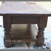 Table Basse - De tout et de ... déco!