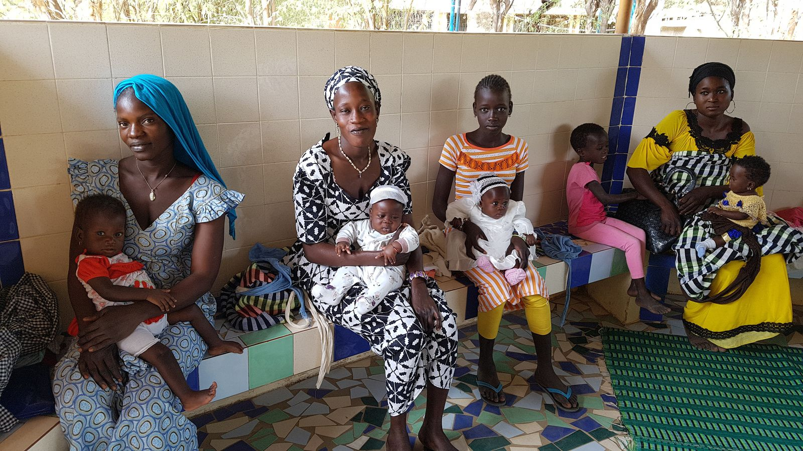 Salle de nutrition à Ngohé