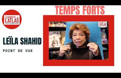 Leïla Shahid : nous payons le prix de questions politiques, pas religieuses