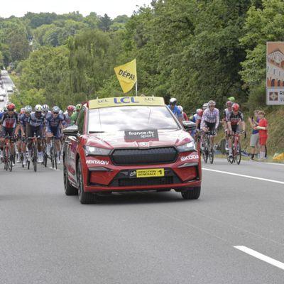 Le Tour de France était en Bretagne