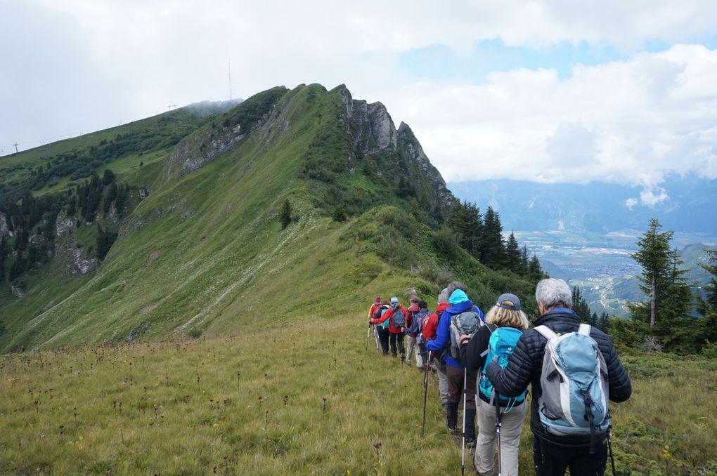 les randonnées variées, surprenantes et émerveillantes cadensent et rythment notre stage intensif: