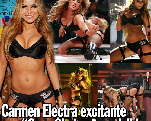 "Carmen Electra excitante aux ""Guys Choise Awards"" !"