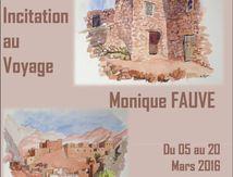 Une expo à découvrir à Bonneval : incitation au voyage par Monique Fauve