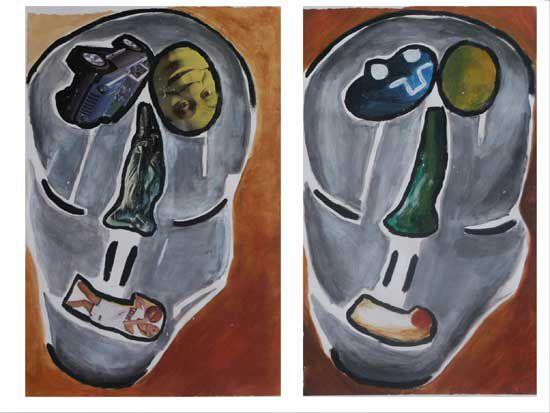 Portraits - 6 peintures - 2003/2008