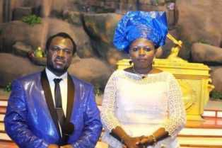 Appostle John Chi finally marries and present hiswife to the AGCOM Christians