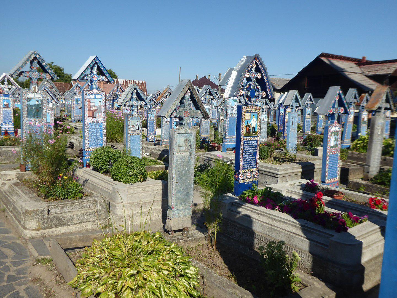 Vendredi 20 août 2021 - J20 - Le cimetière de Sapînta