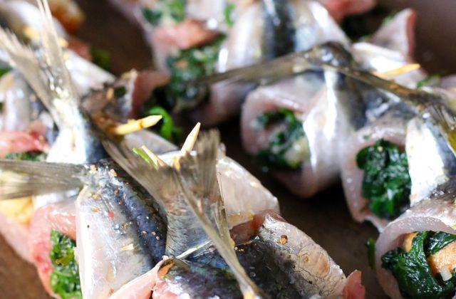 Sardines farcies à la provençale