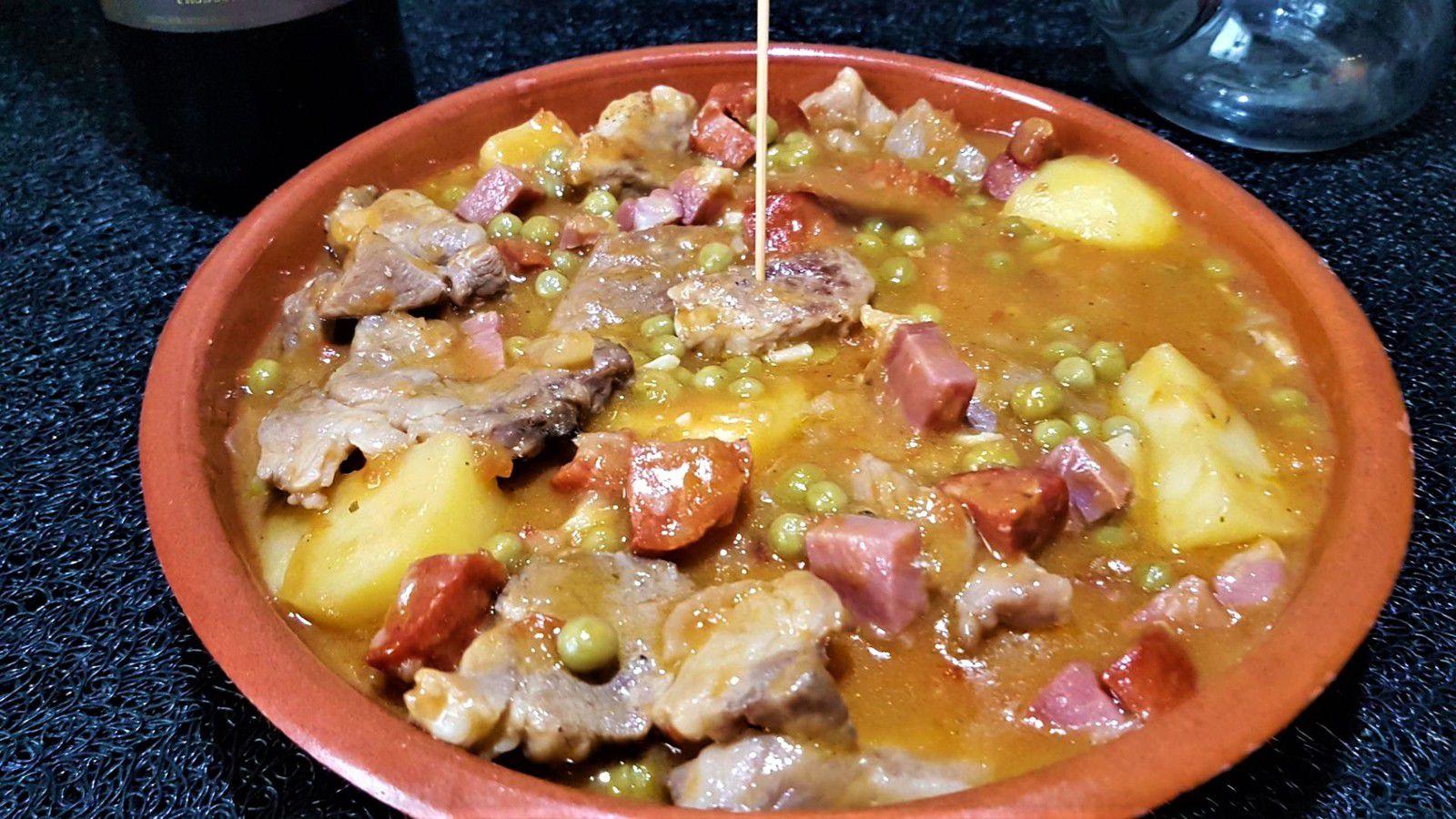 carcamusa de Toledo (ragoût de porc de Tolède)