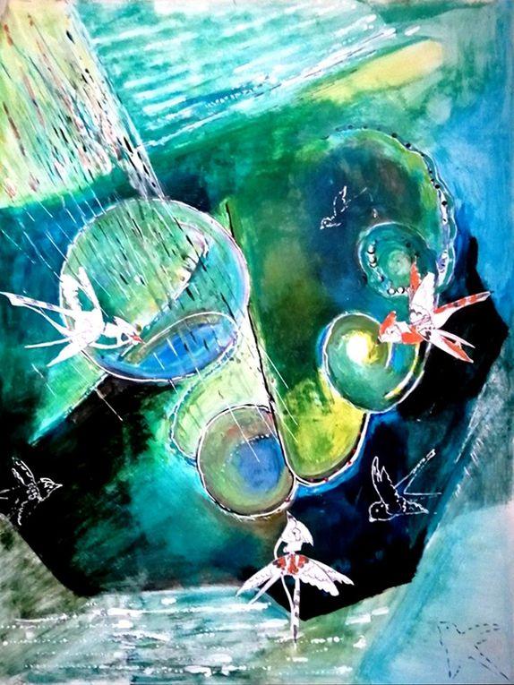 Simone Guignard - 3 étapes de la partie 2 de la composition