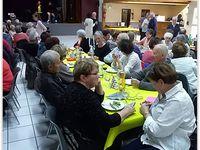 Repas spectacle inter-clubs du «Roudoulet de Chamatte»