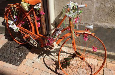 Un jour, une photo : vélo... peace and love