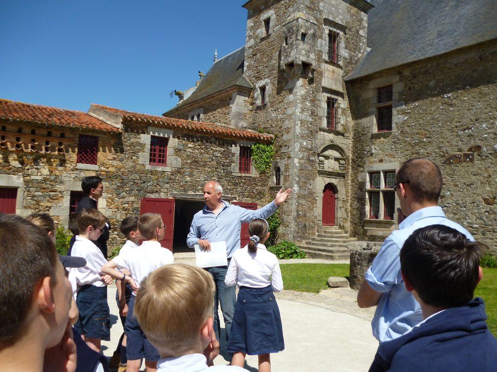 Sortie de classe en Vendée pour la la classe de CM2 en mai 2013