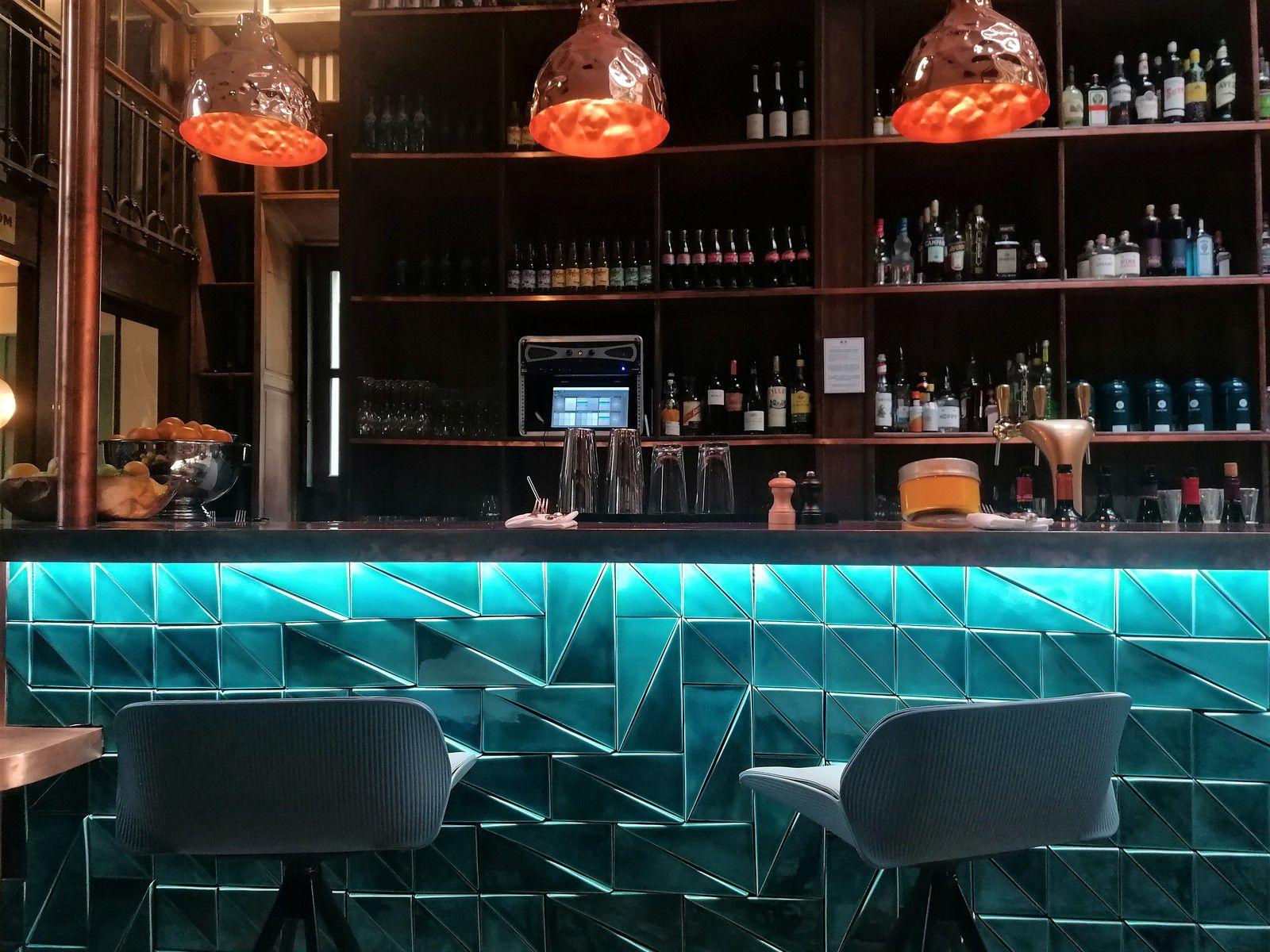 Le splendide bar du Shack