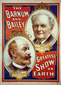 James Anthony Bailey, l'associé de Barnum (1847-1906)