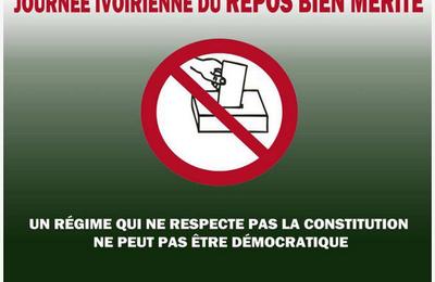 ELECTIONS DU 21 AVRIL 2013: TU N'ES PAS CONCERNE, RESTE CHEZ TOI. STP, FAIS PASSER LE MESSAGE. MERCI