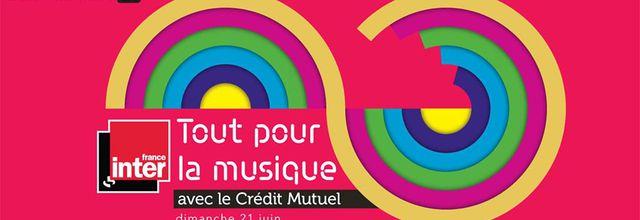 """Journée spéciale """"Tout pour la musique"""" demain sur France Inter"""
