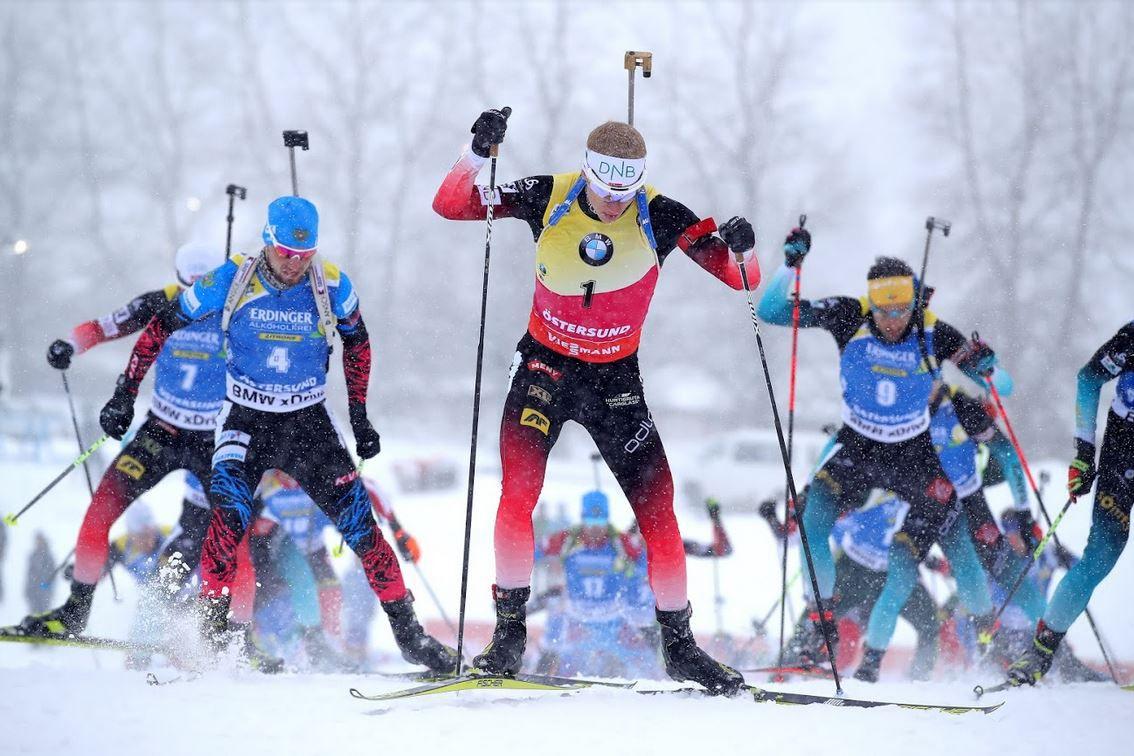 Le Mass Start de la coupe du monde de Biathlon dimanche sur la chaine l'Equipe et Eurosport !
