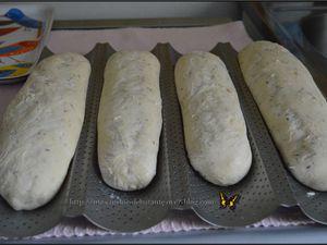 Baguettes au thym