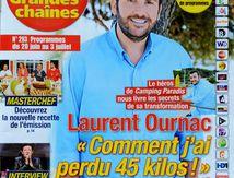 Photos couverture magazines TV pour TF1