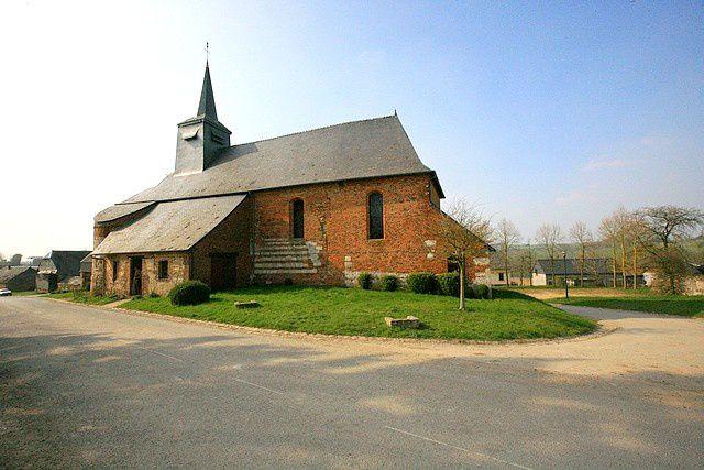 Diaporama église fortifiée Bancigny