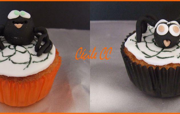 Tuto pour faire des cupcakes araignées....