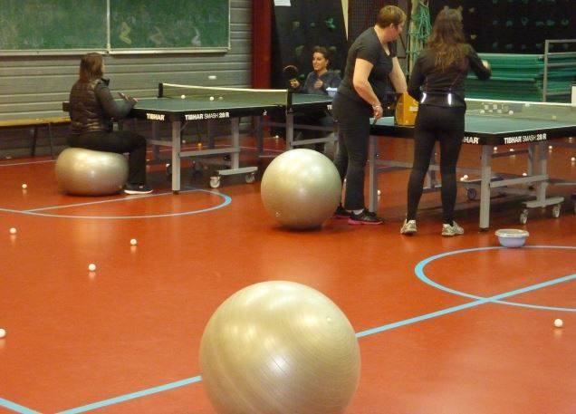 Entrainements Fit Ping Pacy