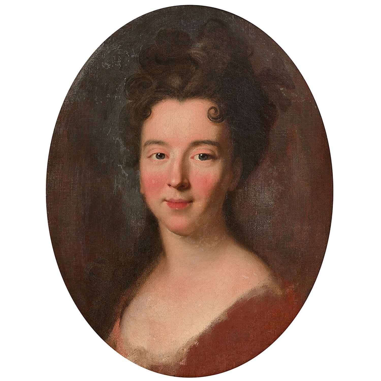 Hyacinthe Rigaud, portrait de femme, v.1695-1700. Collection particulière © Tajan