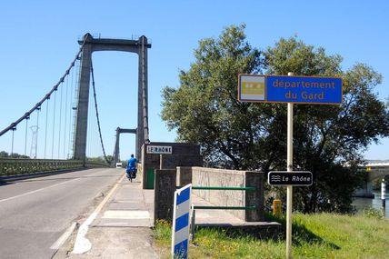 19. Poursuite vers Chusclan- Avignon- 50Km