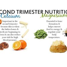 Diet  in Second Trimester of Pregnancy