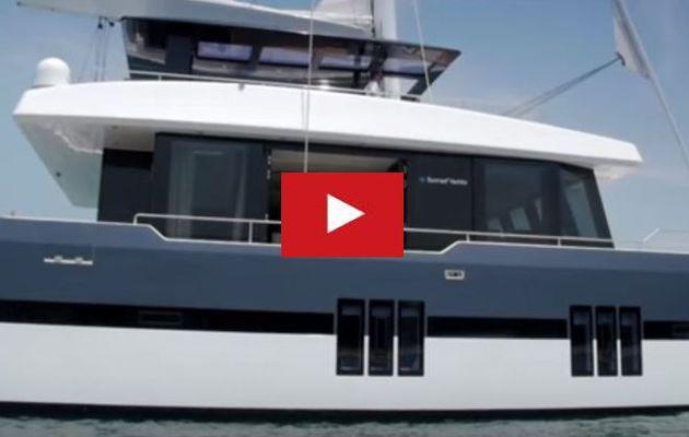 Première vidéo du catamaran révolutionnaire, le Sunreef 68 Supreme