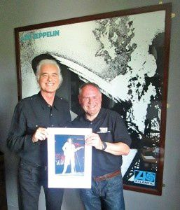When Dave Lewis Meets Jimmy Page...