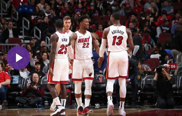 Miami gagne face aux Bulls et passe 2ème à l'Est
