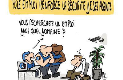 Pôle emploi renforce la sécurité de ses agents !