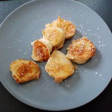 Beignets à la banane (pâte Cyril Lignac)
