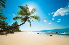 Mes cheveux, la mer et le soleil !