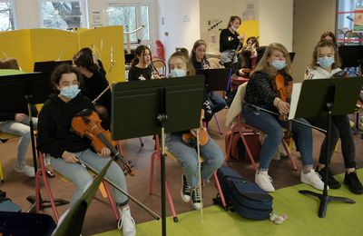 Restitution musicale des classes CHAM du collège Max-Jacob
